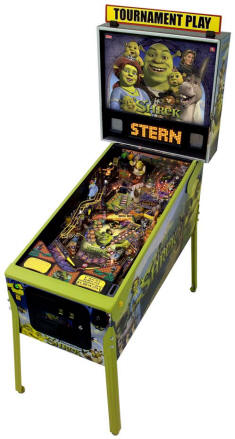 Shrek Pinball Machine by Stern