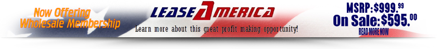 Lease America Wholesale Membership