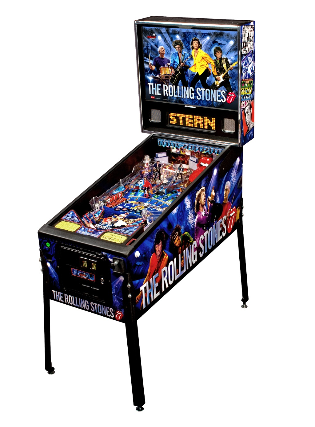 Rolling Stones Pinball by Stern